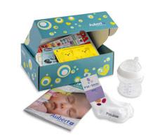 Exemple de contenu du panier bébé gratuit Aubert