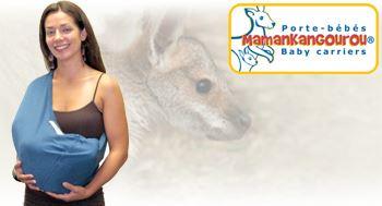 Vente privée écharpe porte bébé Kangourou septembre 2012