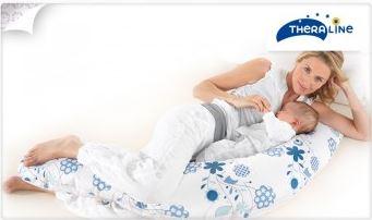 Vente privée coussin maternité et allaitement Theraline octobre 2012 sur couffin-prive.com