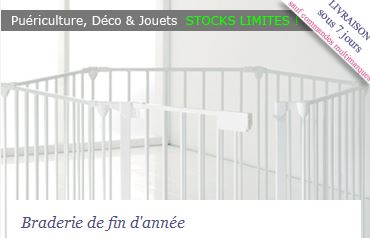 Vente privée bébé braderie fin année decembre 2012 sur bebeboutik.com