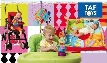 vente privée équipement puériculture Taf Toys janvier 2013 sur couffin-prive.com