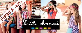 Vente privée Little Marcel mars 2012 sur cabane-chic.com