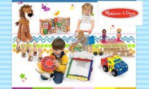 Vente privée jouets Melissa & Doug mars 2013 sur couffin-prive.com