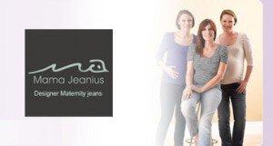 Vente privée jeans de grossesse Mama Jeanius mars 2013 sur couffin-prive.com