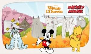 Vente privée bébé chambres et textiles Disney avril 2013 sur couffin privé