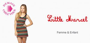 Vente privée Little Marcel sur showroom prive