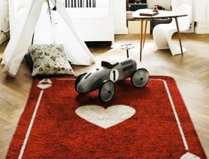 Vente privée tapis chambre enfants Aratextil sur bebeboutik.com