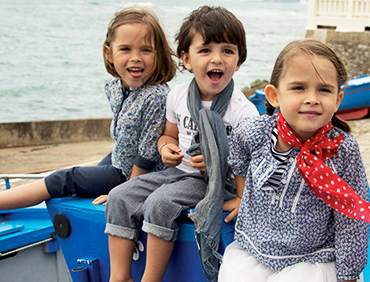 Vente privée bébé Arsène et les pipelettes mai 2013 sur bebeboutik.com