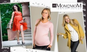 Vente privée mom2mom vêtements grossesse mai 2013 sur couffin privé