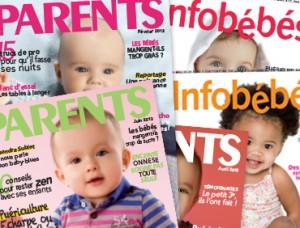 Vente privée abonnement magazines puériculture juin 2013 sur bebeboutik.com