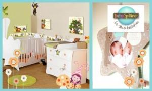 Vente privée décoration baby sphere juin 2013 sur couffin privé