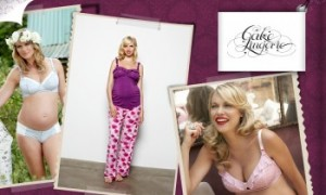 Vente privée allaitement Cake lingerie juin 2013 sur couffin privé
