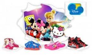 Vente privée chaussures Disney juin 2013 sur couffin privé
