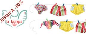 Vente privée maillots de bains enfants la fabrique d'enfant sage juin 2013 sur cabane-chic.com