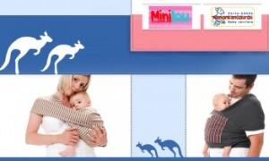 Vente privée porte bébés Maman Kangourou juin 2013 sur couffin privé
