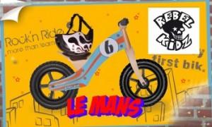 Vente privée draisiennes Rebel Kidz juin 2013 sur couffin privé