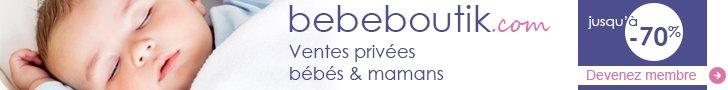 vente privée bébé bebeboutik.com