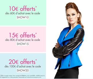 Code réduction showroomprive
