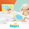 couches lingettes pampers