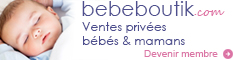 vente privée bébé bebeboutik