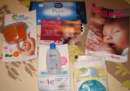 Contenu du coffret cadeau Auchan