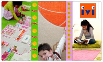 Ventes privées tapis enfants IVI septembre 2012 sur couffin privé