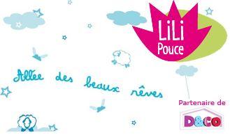 Vente privée stickers Lili Pouce octobre2012 sur bebeboutik.com