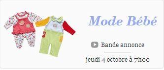 Ventes privéesvêtements bébé octobre 2012