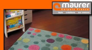 Vente privée tapis Maurer janvier 2013 sur bebeboutik.com