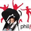 Vente privée poussettes et lit parapluie Phil and Teds février 2013 sur bebeboutik.com