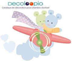vente privée bébé décoration décoloopio sur bebeboutik.com