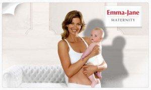 Vente privée lingerie maternité Emma Jane avril 2013 sur couffin-prive