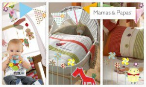 Vente privée bébé Mamas and Papas mars 2013 sur couffin-prive.com