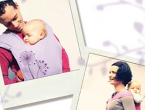 Vente privée porte bébé Chinado mai 2013 sur bebeboutik.com