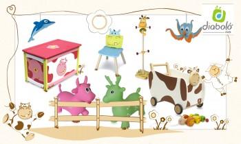 Vente privée jouets déco Diabolokids mai 2013 sur couffin privé