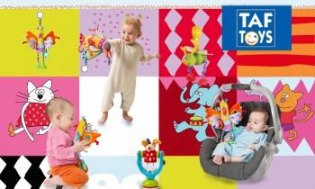 Vente privée jouets Taf Toys mai 2013 sur couffin privé