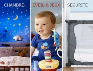 Vente privée braderie Chambre, Eveil, Jeux et Sécurité aout 2013 sur bebeboutik.com